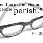 The People Don't Perish Without a Vision Statement