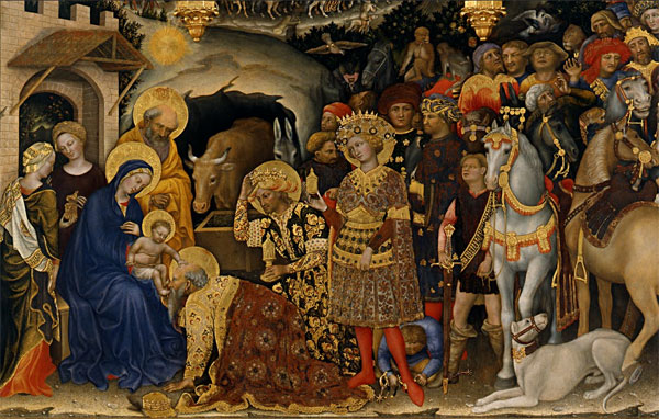 "Gentile da Fabriano's ""Adoration of the Magi"""